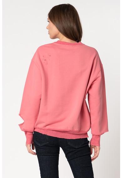 Diesel Bluza sport cu rupturi decorative Lilo Femei