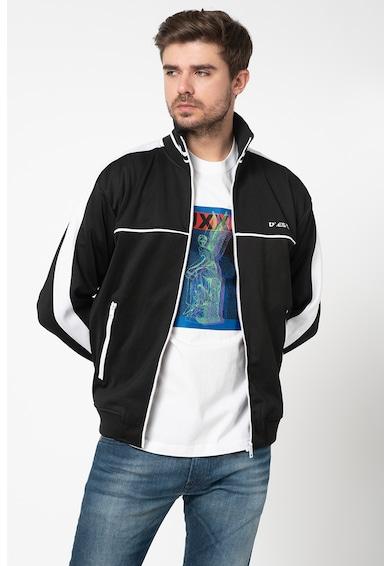 Diesel Bluza sport cu fermoar si logo S-Roots Barbati