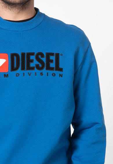 Diesel Bluza sport cu decolteu la baza gatului Division Felpa Barbati