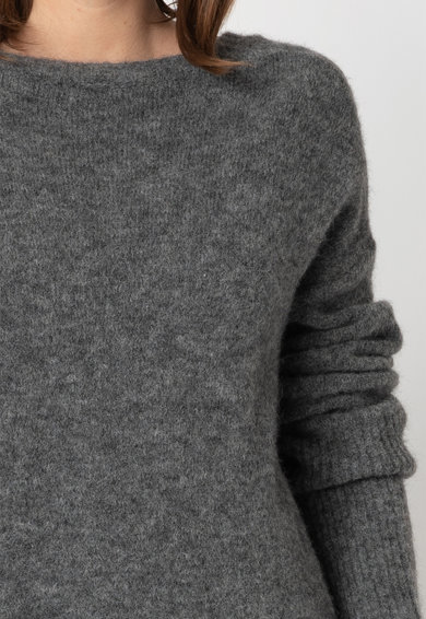 Diesel Rochie din amestec de lana, cu textura moale Femei