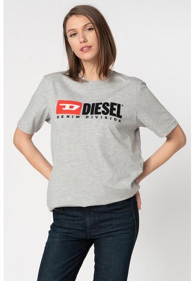 Diesel Tricou cu imprimeu logo Just Division Femei
