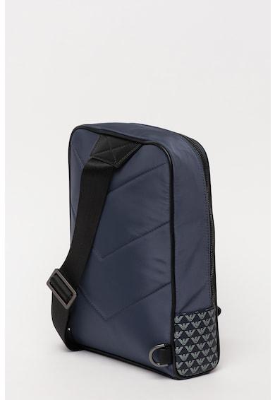 Emporio Armani Monogramos keresztpántos táska műbőr szegéllyel férfi