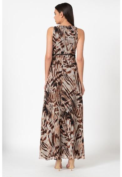 GUESS BY MARCIANO Дълга рокля с животинска шарка Жени