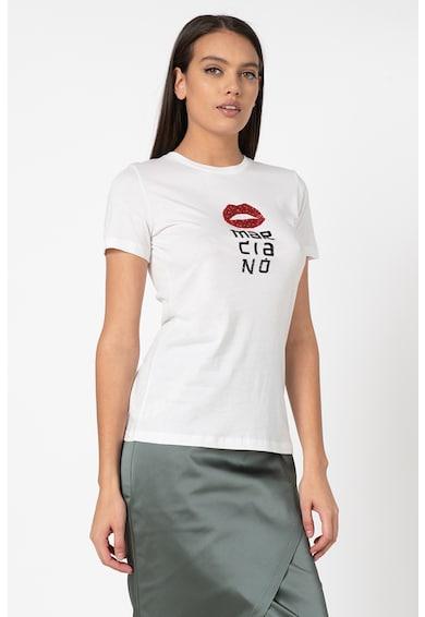GUESS BY MARCIANO Тениска с модал и апликации Жени