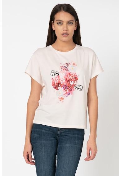 GUESS BY MARCIANO Флорална тениска с модал Жени