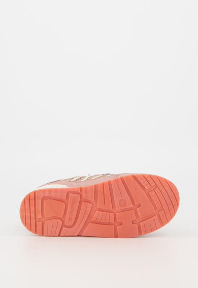 Lumberjack Pantofi sport din piele cu garnituri stralucitoare Squish Fete
