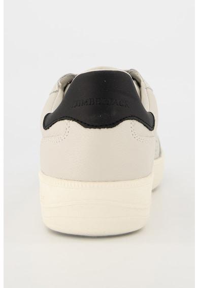 Lumberjack Pantofi sport de piele cu garnituri de piele ecologica Summer Chuck Barbati