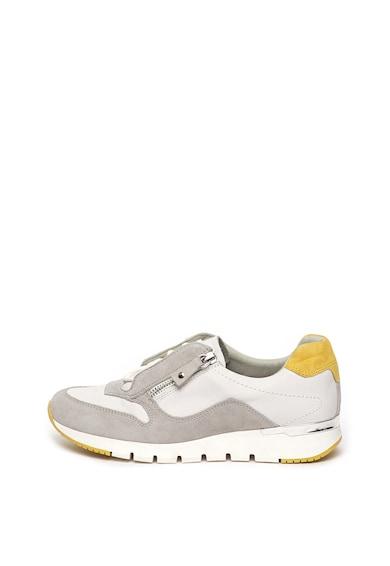 Caprice Pantofi de piele cu garnituri de piele intoarsa Femei
