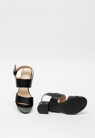 Caprice Sandale de piele cu toc masiv Femei