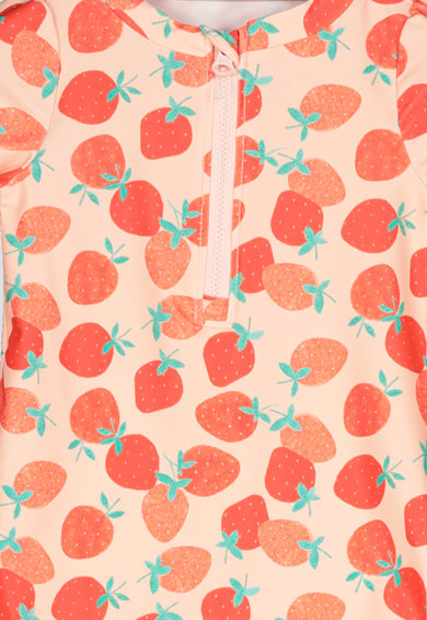 GAP Costum de baie intreg cu model cu fructe si capse Fete