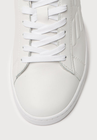 EA7 Pantofi sport de piele peliculizata Barbati