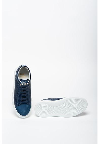 LA MARTINA Pantofi sport din piele intoarsa si piele Femei