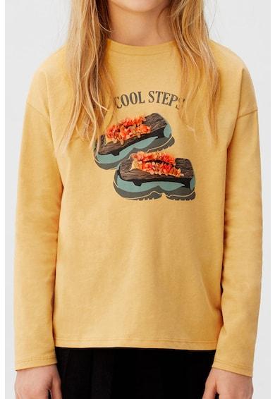 Mango Bluza cu imprimeu grafic Steps Fete