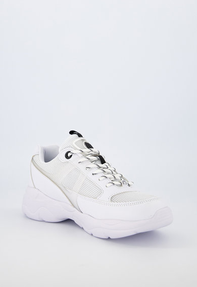 MTNG Pantofi sport de piele ecologica cu insertii de plasa si aplicatie logo Femei