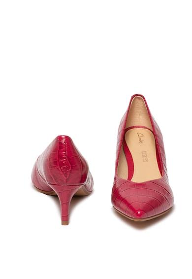 Clarks Pantofi cu toc kitten Laina Court Femei