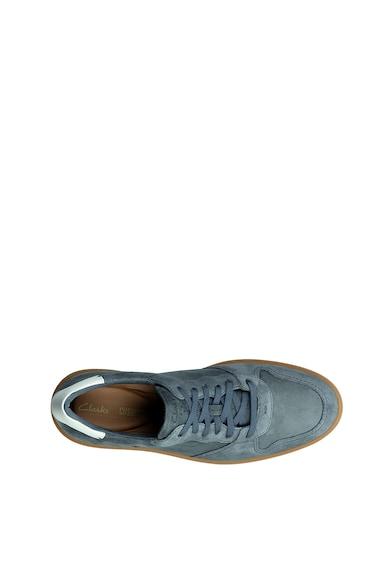 Clarks Pantofi sport de piele intoarsa Hero Jump Barbati