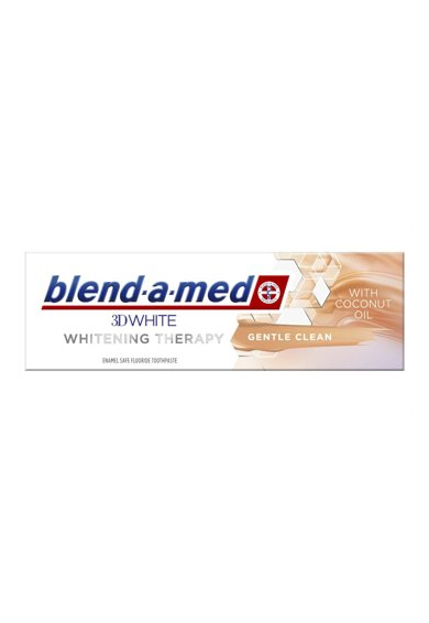 Blend-a-med Pasta de dinti  3DWhite Whitening Therapy Gentle Clean 75 ml Femei