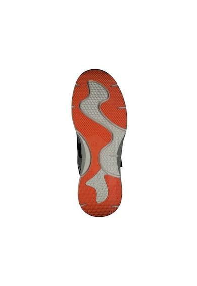 s.Oliver Pantofi sport din plasa cu insertii din piele ecologica Barbati