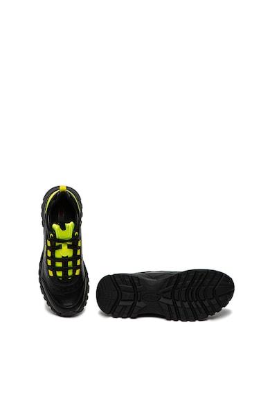 s.Oliver Pantofi sport din piele ecologica cu garnituri contrastante Femei