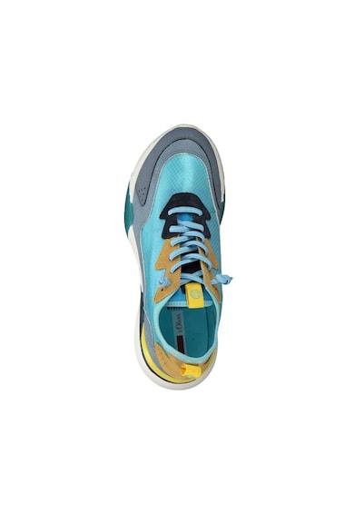 s.Oliver Pantofi sport cu model colorblock si garnituri de piele intoarsa si piele Femei
