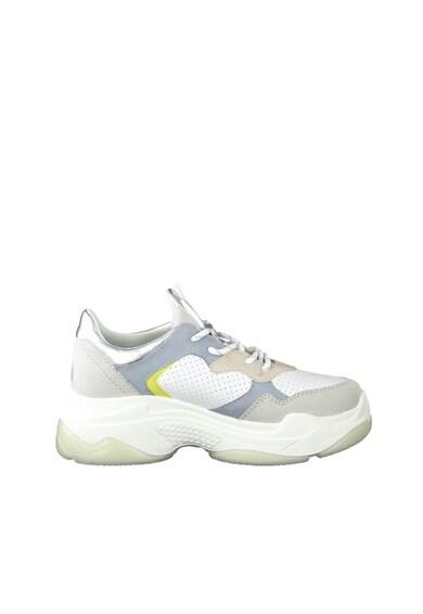 s.Oliver Pantofi sport cu model colorblock, aspect masiv si garnituri de piele ecologica Femei