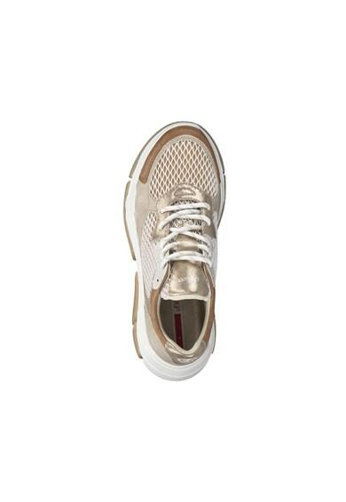 s.Oliver Pantofi sport cu aspect masiv si garnituri metalizate Femei