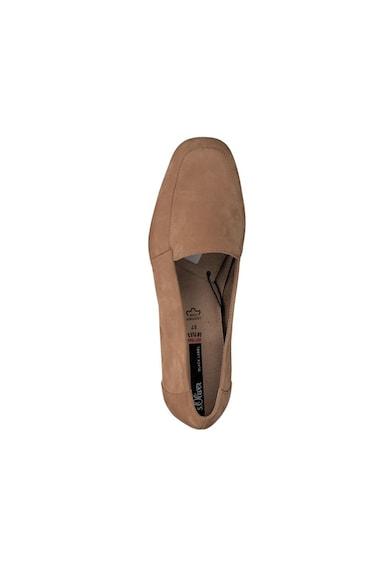 s.Oliver Pantofi loafer de piele Femei