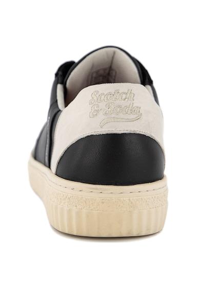Scotch & Soda Pantofi sport din piele cu detalii perforate Brilliant Barbati