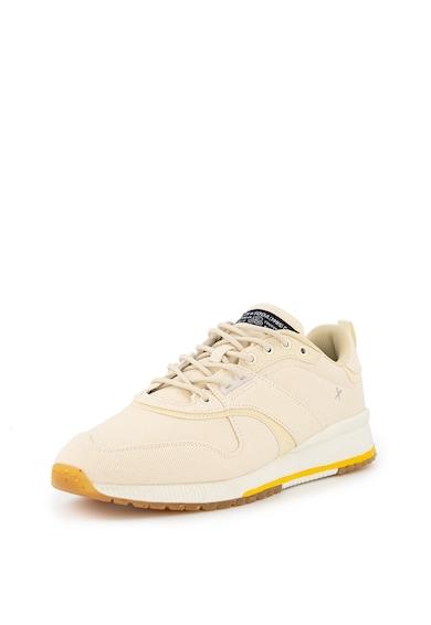 Scotch & Soda Pantofi sport de panza, cu garnituri striate Vivex Barbati