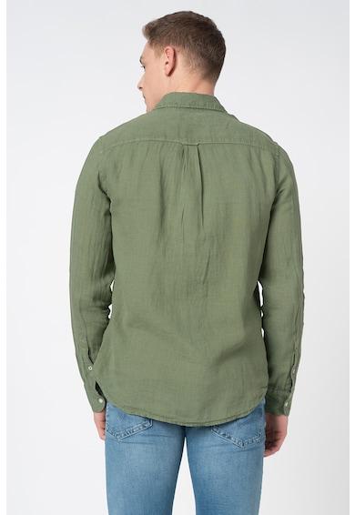 Pepe Jeans London Ленена риза Addison с джоб отпред Мъже