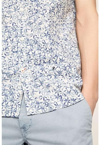 Pepe Jeans London Camasa cu maneci scurte si model floral Barbati