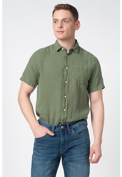 Pepe Jeans London Ленена риза Adrian Мъже
