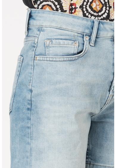 Pepe Jeans London Pantaloni scurti din denim cu talie inalta Mary Femei