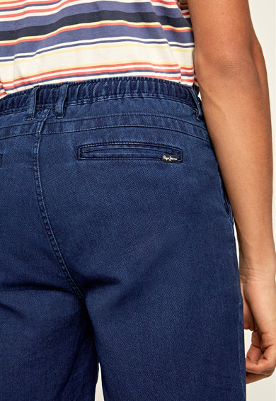Pepe Jeans London Blugi 3/4 relaxed fit Pierce Barbati