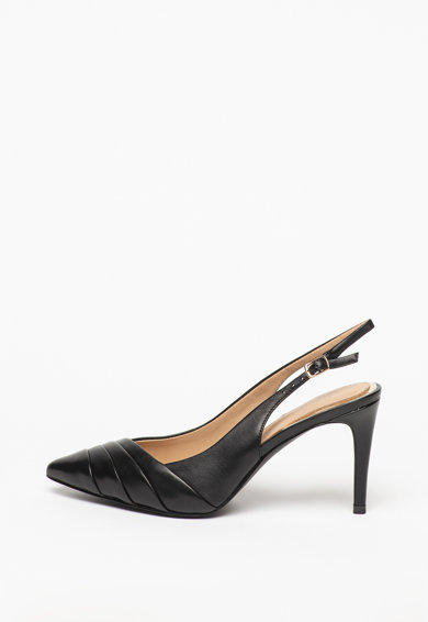 Guess Pantofi slingback de piele Femei