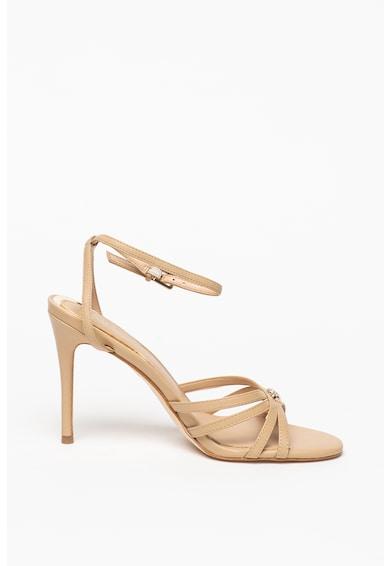 Guess Sandale din piele cu toc stiletto Femei