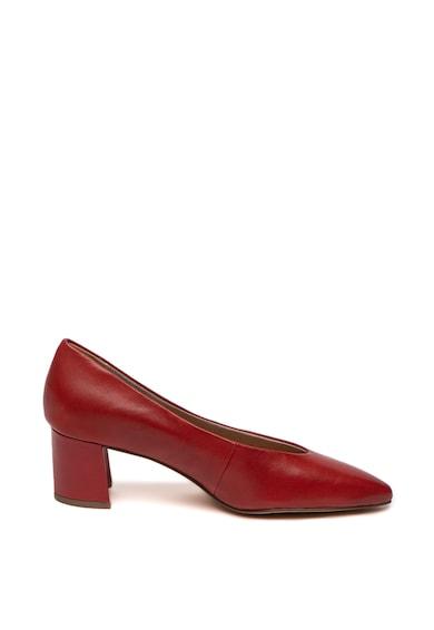 Marco Tozzi Pantofi de piele cu varf ascutit Femei
