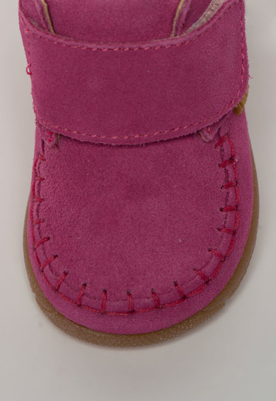 Primigi Pantofi din piele intoarsa, cu inchidere velcro Fete