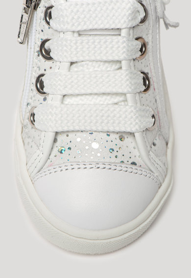 Primigi Pantofi din piele ecologica cu insertii stralucitoare Fete