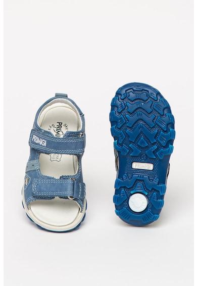 Primigi Sandale de piele ecologica, cu detaliu logo Fete