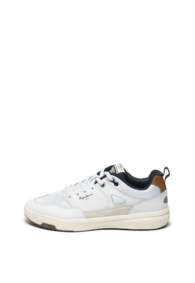 Pepe Jeans London Pantofi sport cu insertii de piele intoarsa Slate Pro Summer Barbati
