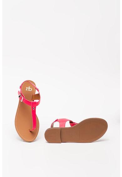RB DI ROCCOBAROCCO Sandale din piele ecologica cu bareta separatoare Simi Femei
