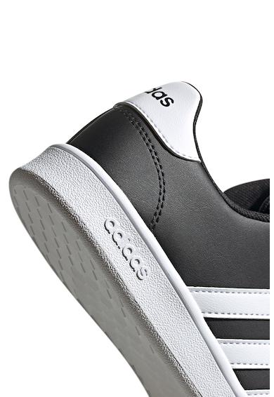 adidas Performance Pantofi sport de piele ecologica Grand Court Fete