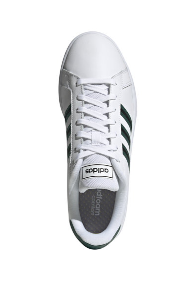 adidas Performance Pantofi sport de piele ecologica Grand Court Barbati