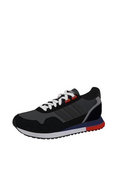 adidas Performance Pantofi cu garnituri de piele intoarsa, pentru alergare 8K 2020 Barbati