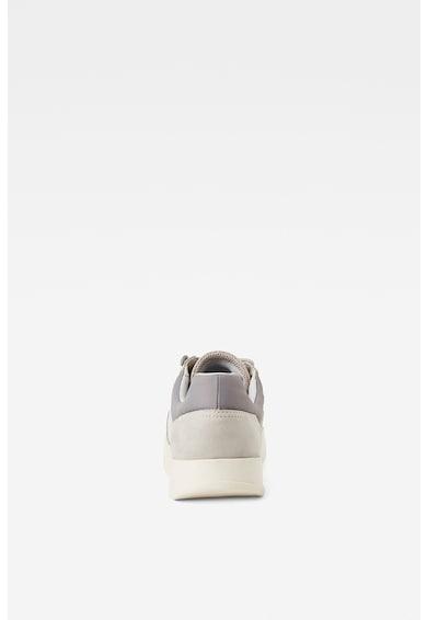 G-Star RAW Pantofi sport cu garnituri de piele si plasa Barbati