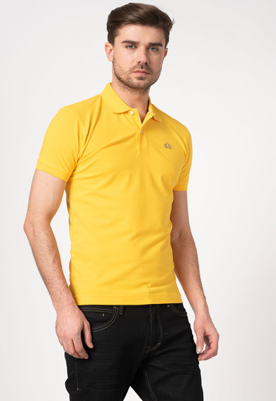LA MARTINA Tricou polo slim fit Barbati