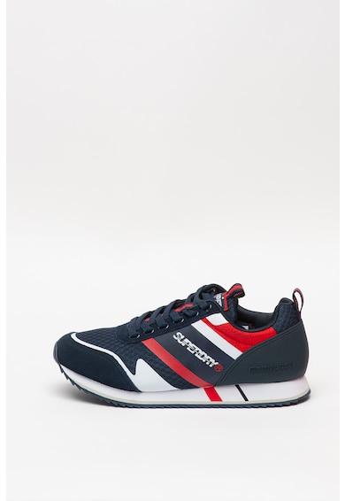 SUPERDRY Fero Runner Core sneaker nyersbőr részletekkel férfi