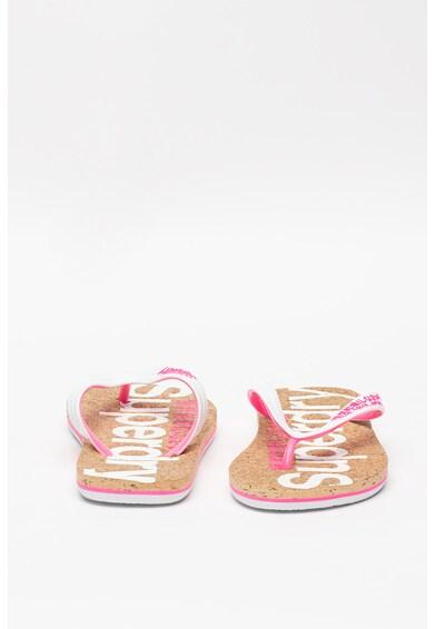 SUPERDRY Flip-flop papucs parafa talpbetéttel női