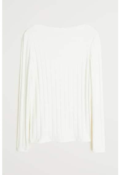 Mango Pulover din tricot fin cu decolteu barcuta Alex Femei
